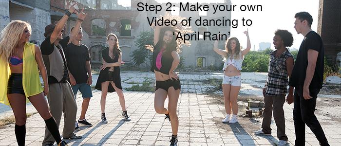 make a dance video